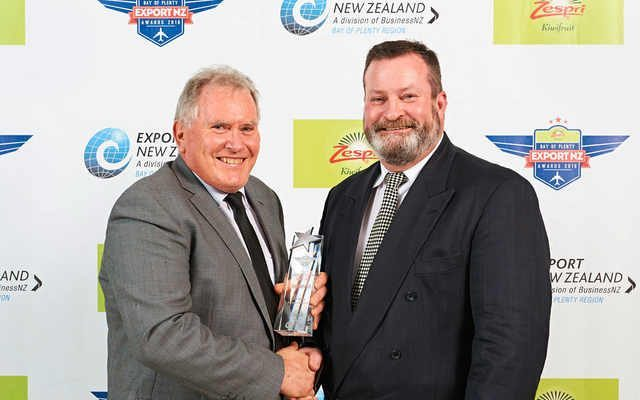 Company Founder Awarded for Export Achievement