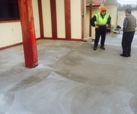 Pleased to support upgrades to Pupuaruhe Marae
